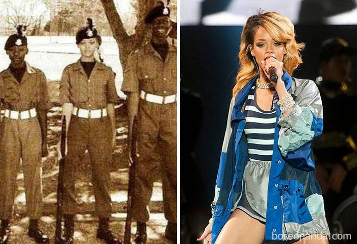 Rihanna Was An Army Cadet