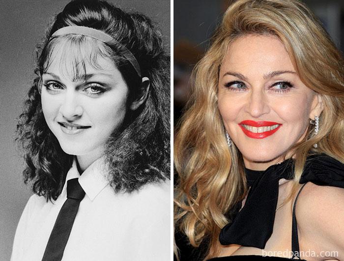 Madonna trabajó en un Dunkin Donuts hasta que la despidieron
