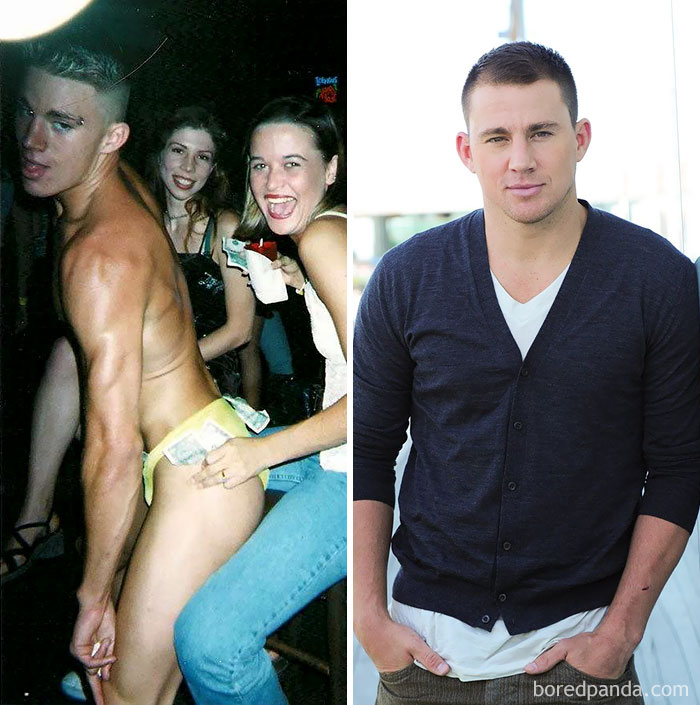 Channing Tatum solía ser stripper