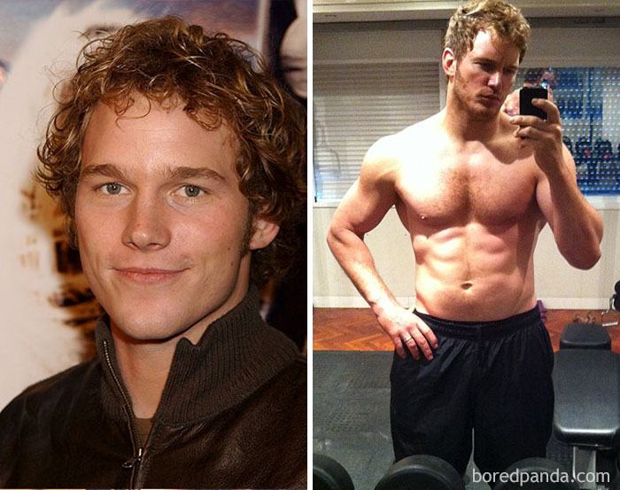 Chris Pratt trabajó como stripper intentando ganarse la vida en Hawai