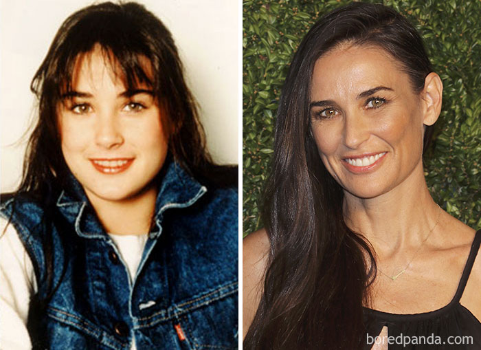 Demi Moore Was A Debt Collector