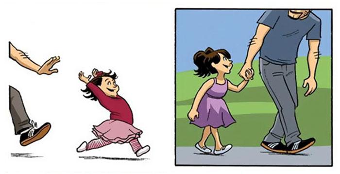 «Θα έχουν μεγαλώσει χωρίς να το καταλάβουμε» – ένα σκίτσο που συγκινεί - εικόνα 3