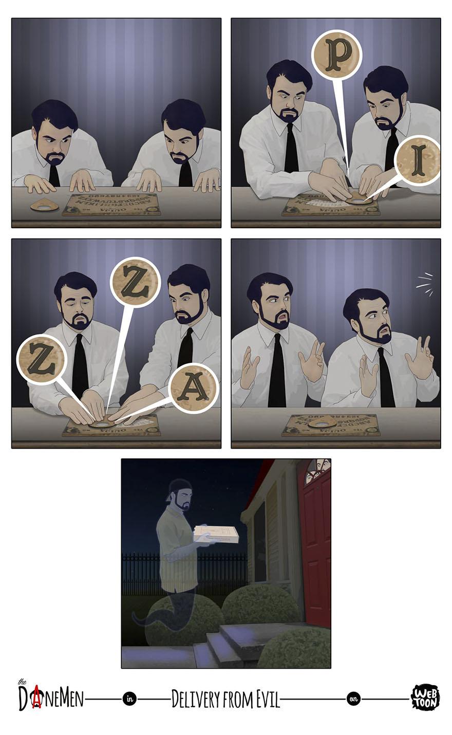 The Danemen Comics