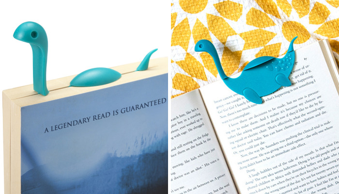 We Created This Nessie Bookmark That Will Float Above Your Beloved Book