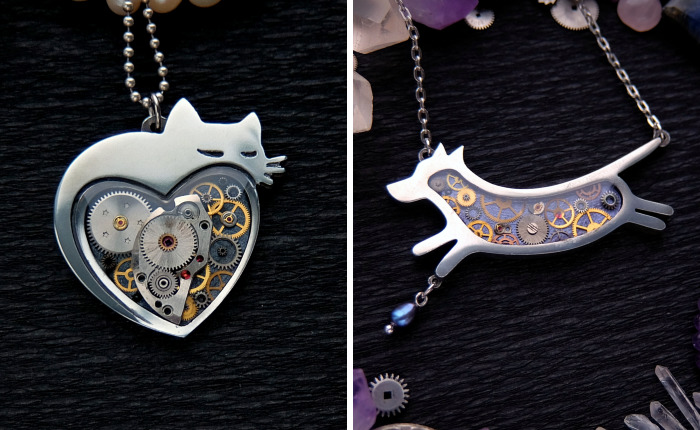 My Cousin Recycles Old Watch Into Unique Handmade Jewelry