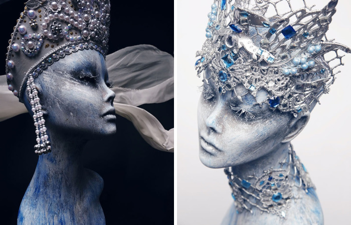 Breathtaking Cosplay: Ice And Fire Gears By Evgeny Freeone
