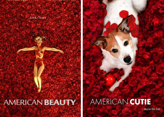 I Photoshop My Dog Into Movie Posters