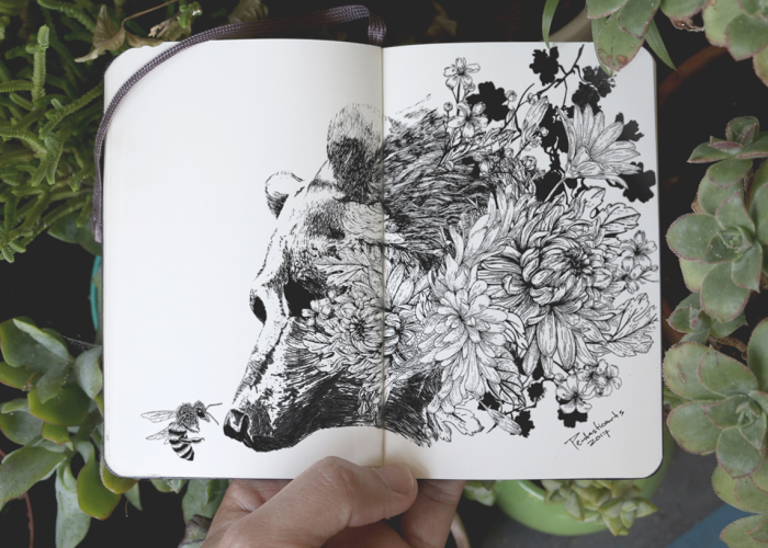 I Express My Love For Nature In Drawings With A Touch Of Surrealism