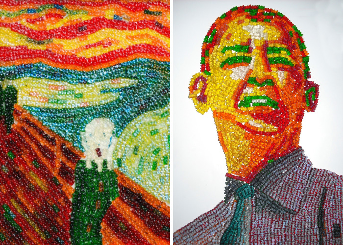 I Made Art Out Of 100,000+ Gummy Bears