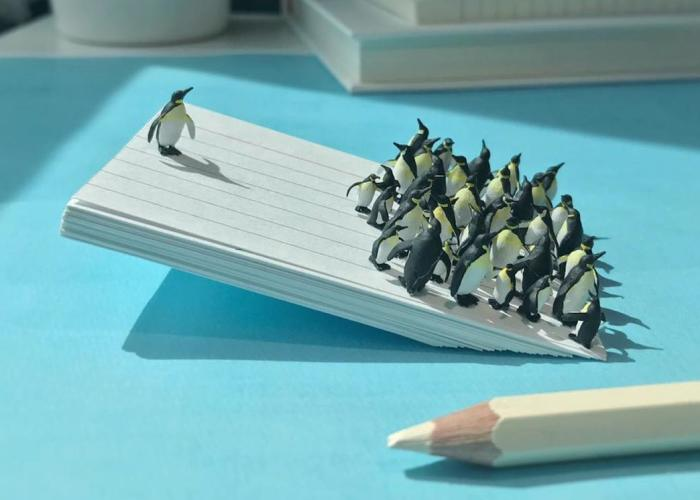 Miniature Office: Guy Turns Work Frustrations Into Miniature Scenes