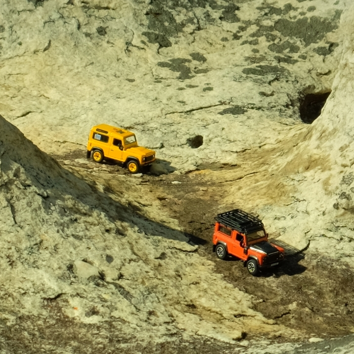 I Took Miniature Cars Outdoors To Experience Turning Everyday Environments Into Exotic Locations