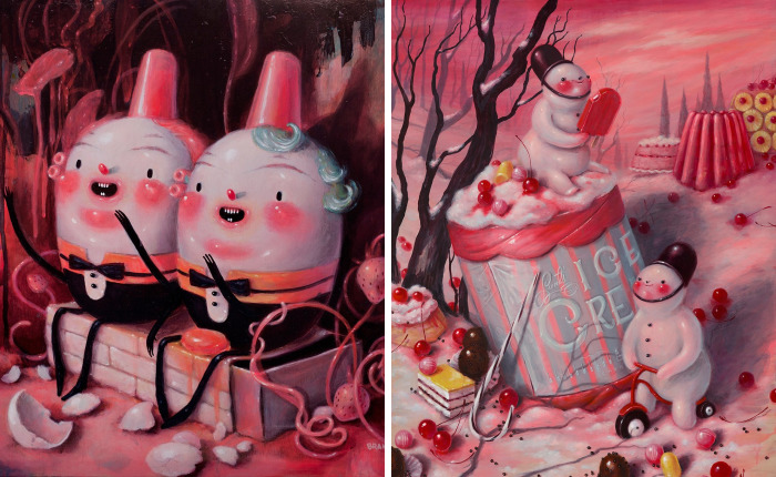 Artist Shows That Real Life Is Not A Fairy Tale Through Her Surreal Illustrations