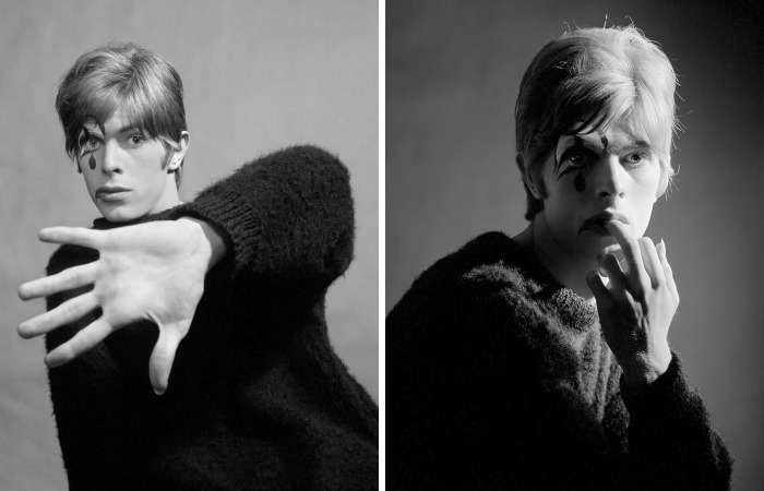 Never-Before-Seen Photos Of 20-Year-Old David Bowie Posing For His Debut Album Cover In 1967