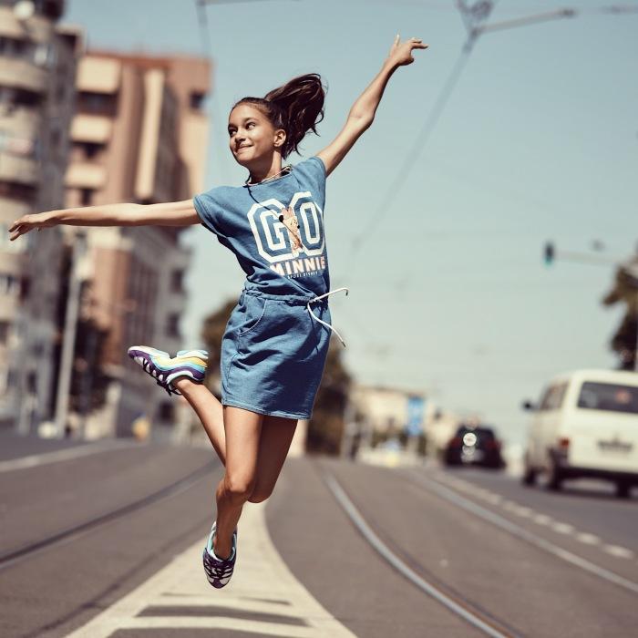 Little Ballerina Says Goodbye To Bucharest With One Last Urban Shooting
