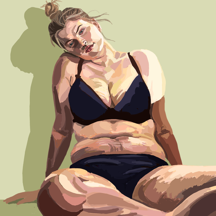 He Promotes The Dignity Of All Bodies In His Paintings