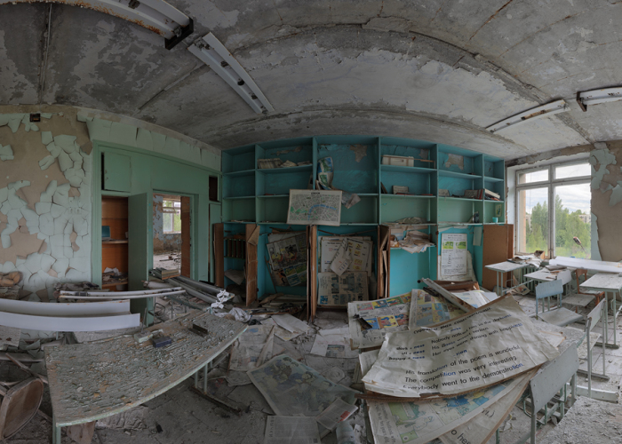 Pripyat In Panoramas Project In The Chernobyl Exclusion Zone