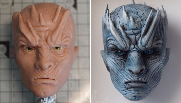 I Created The Night King Of Game Of Thrones From Clay