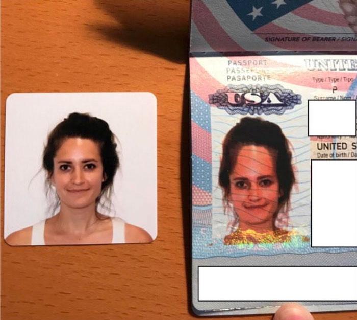 Han clavado el pasaporte