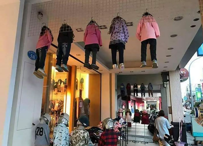 This Clothing Display