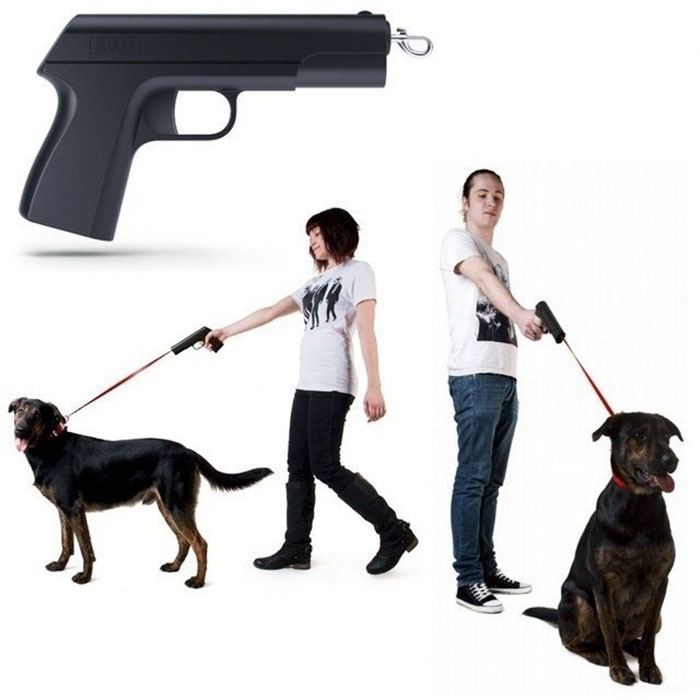 Claro, a todos les gusta que parezca que van a disparar al perro