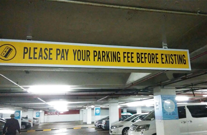 Parking Fee Just Gotten Real