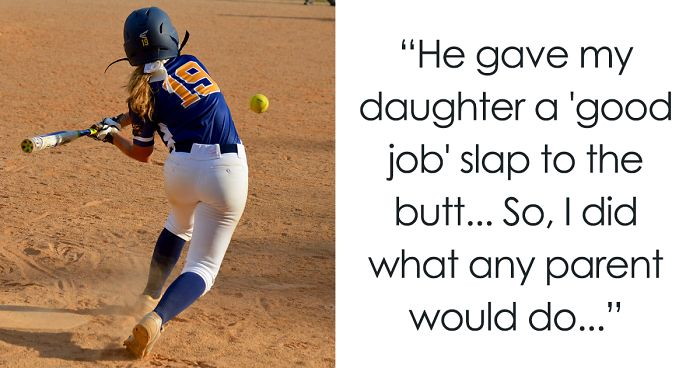 Dad Gets Brilliant Revenge After Coach Gives His Daughter Good Job Slap On The Butt Bored Panda