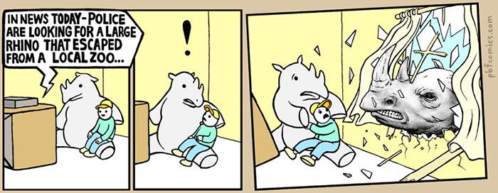 Dark Humor Comics