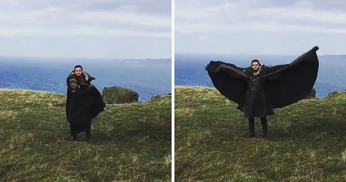 Emilia Clarke Posts Hilarious 'Game Of Thrones' Behind-The-Scenes Video, And It Wins The Internet