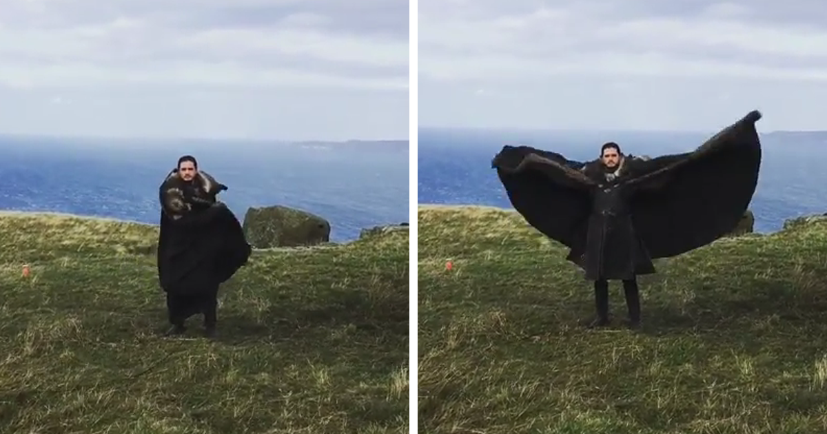 Emilia Clarke Posts Hilarious ?Game Of Thrones? Behind-The-Scenes Video, And It Wins The Internet