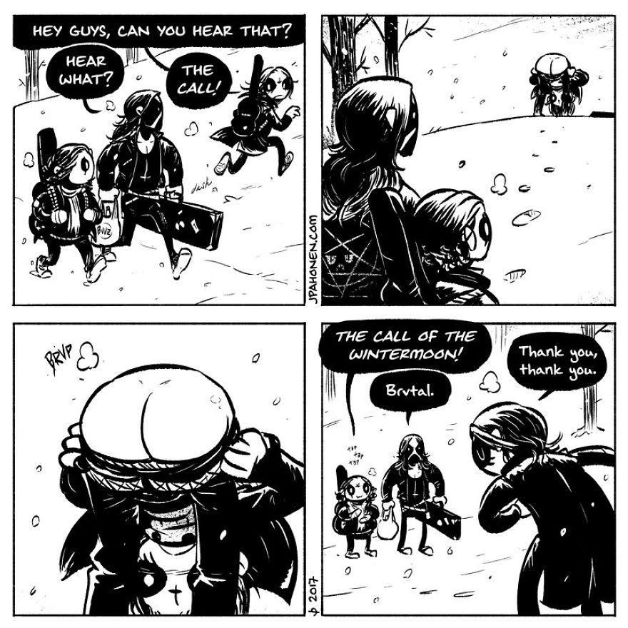 Black Metal Comics