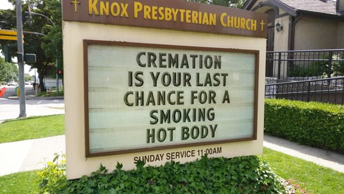 10+ Genius Church Signs That Will Make You Laugh And Think