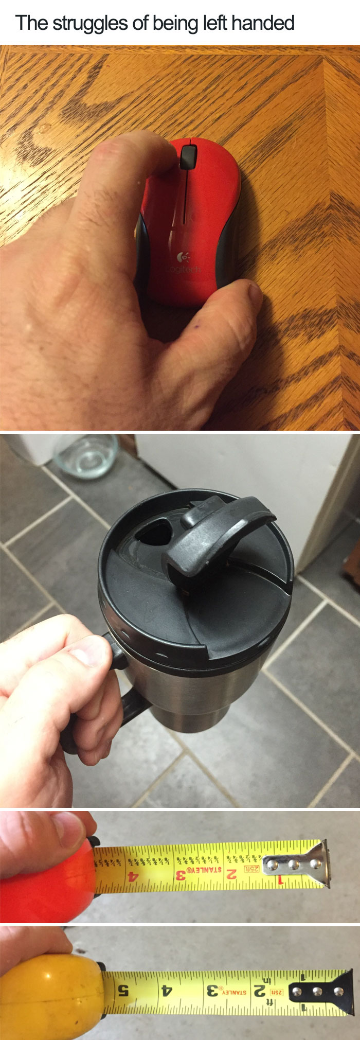 45+ Pics That Reveal The Horrors Of Being Left-Handed