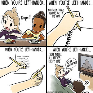 Funny Left Handers Problems