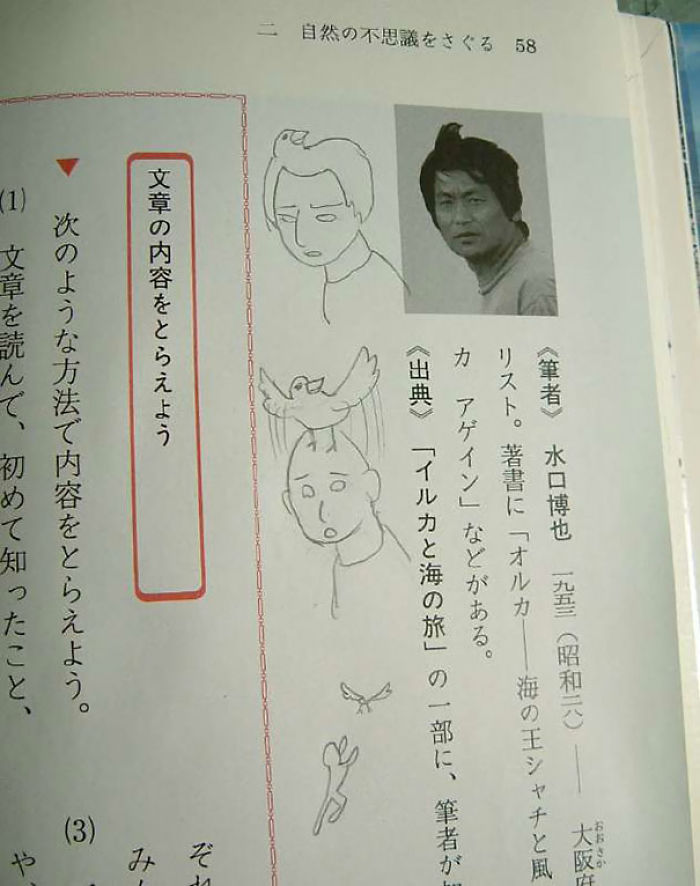 Textbook Vandalism