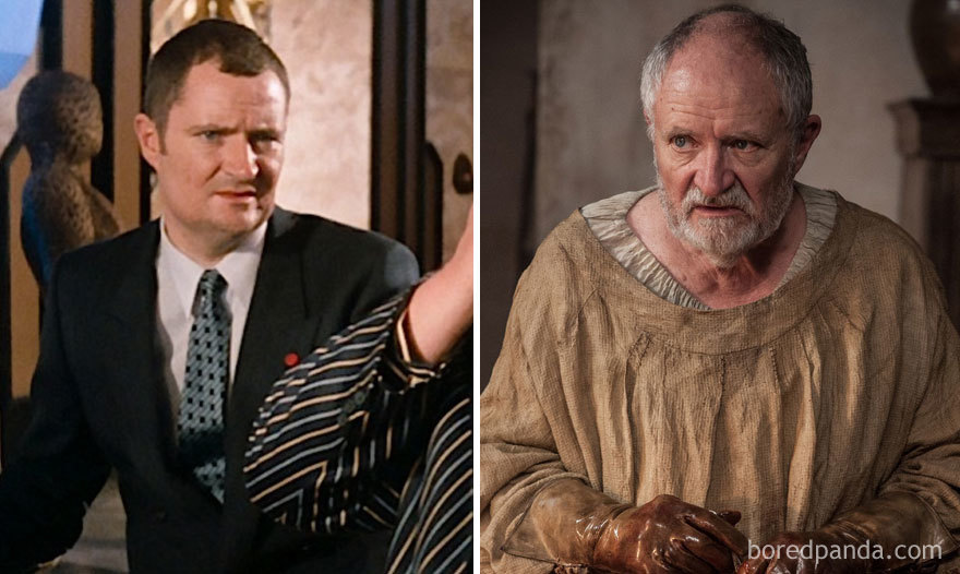 Jim Broadbent As Jean Pierre Dubois (in 1987's Superman Iv: The Quest For Peace) And As Archmaester Ebrose (in Got)