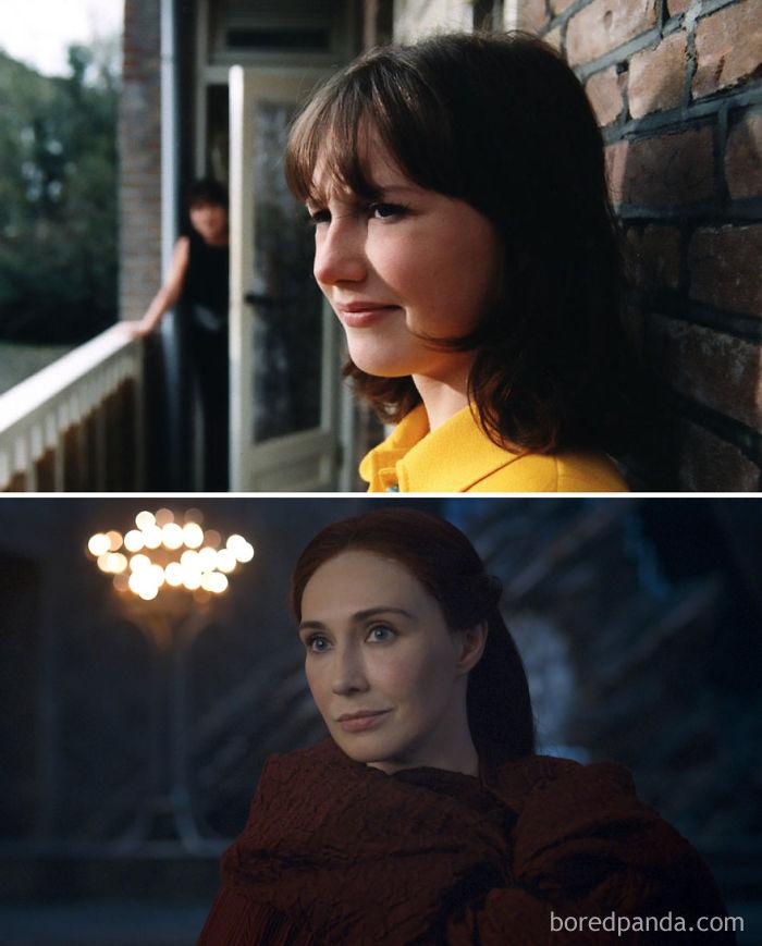Carice Van Houten como Suzy (Suzy Q, 1999) y como Melisandre