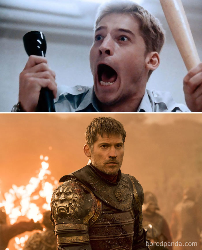 Nikolaj Coster-Waldau As Martin (In 1997's Nightwatch) And As Jaime Lannister (In GoT)