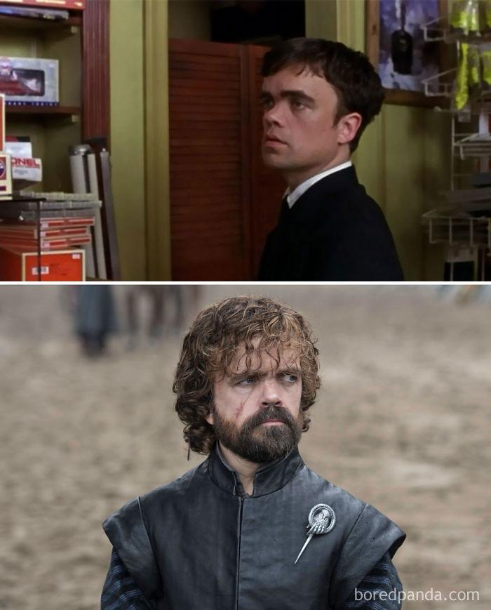 Peter Dinklage como Finbar McBride (Vías cruzadas, 2003) y como Tyrion Lannister
