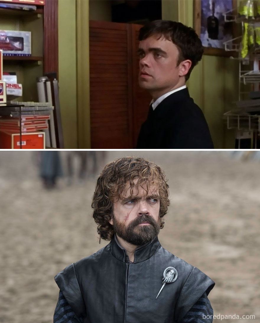 Peter Dinklage As Finbar Mcbride (In 2003's The Station Agent) And As Tyrion Lannister (In GoT)