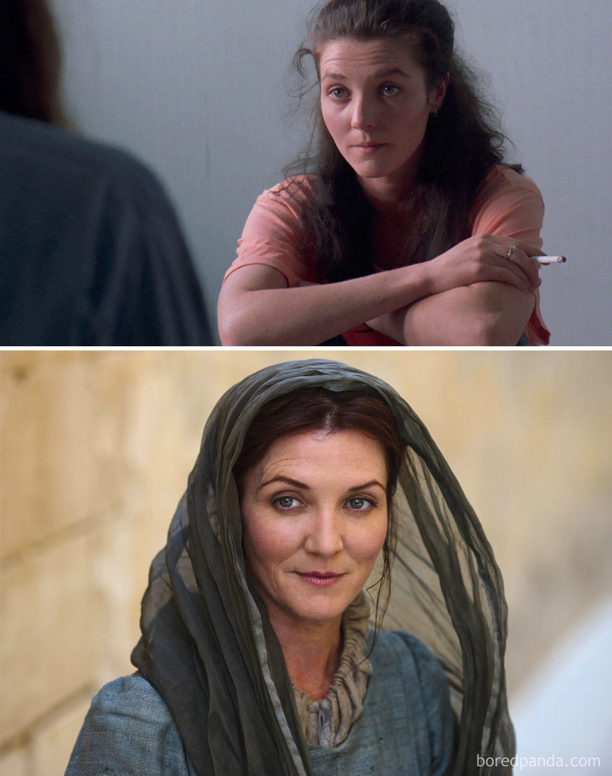 Michelle Fairley As Teresa Doyle (In 1990's Hidden Agenda) And As Catelyn Stark (In GoT)
