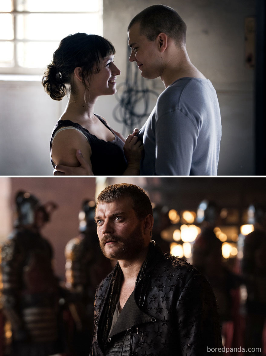 Pilou Asbæk As Teis (in 2008's Worlds Apart) And As Euron Greyjoy (in Got)