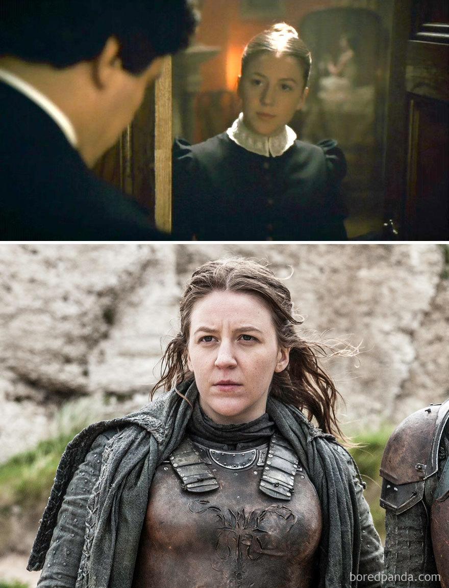 Gemma Whelan As Gwen's Maid (in 2010's The Wolfman) And As Yara Greyjoy (in Got)