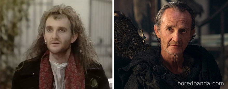 Anton Lesser As Feste (in 1988's Twelfth Night, Or What You Will) And As Qyburn (in Got)