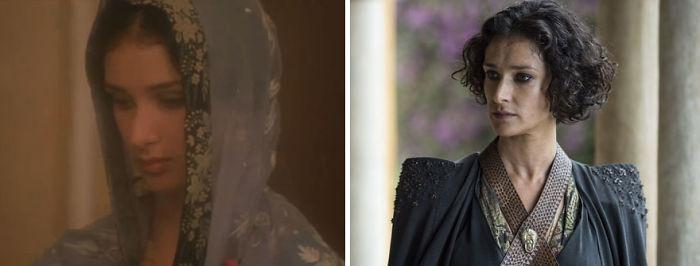 Indira Varma como Ruttie Jinnah (Jinnah, 1998) y como Ellaria Arena