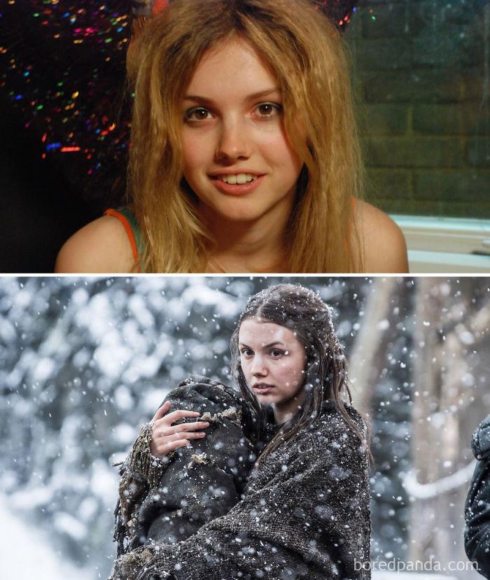 Hannah Murray como Cassie Ainsworth (Skins, 2007) y como Gilly
