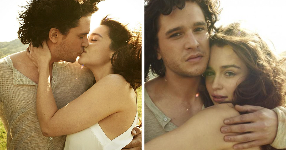 This Photoshoot Of Emilia Clarke And Kit Harrington Is Going Viral, And It Proves They're Born To Be Together