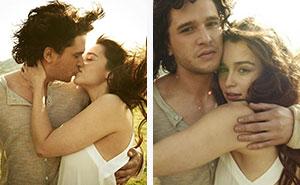 Esta antigua sesión de fotos de Jon Nieve y Daenerys se ha vuelto viral, y nos hace sentir cosas