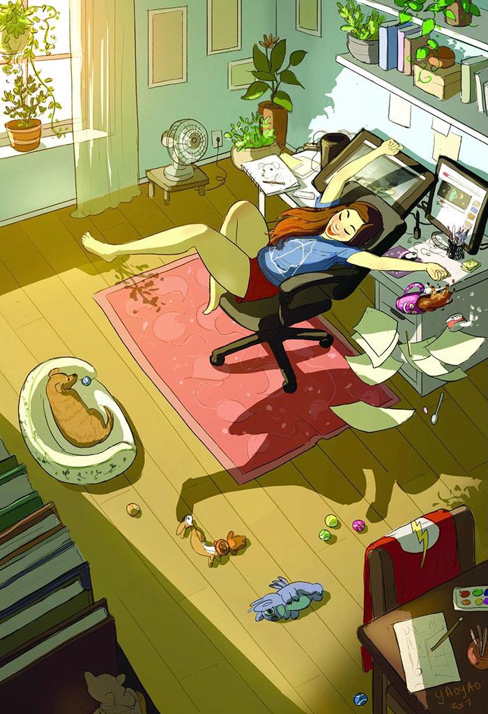 Vivir solo