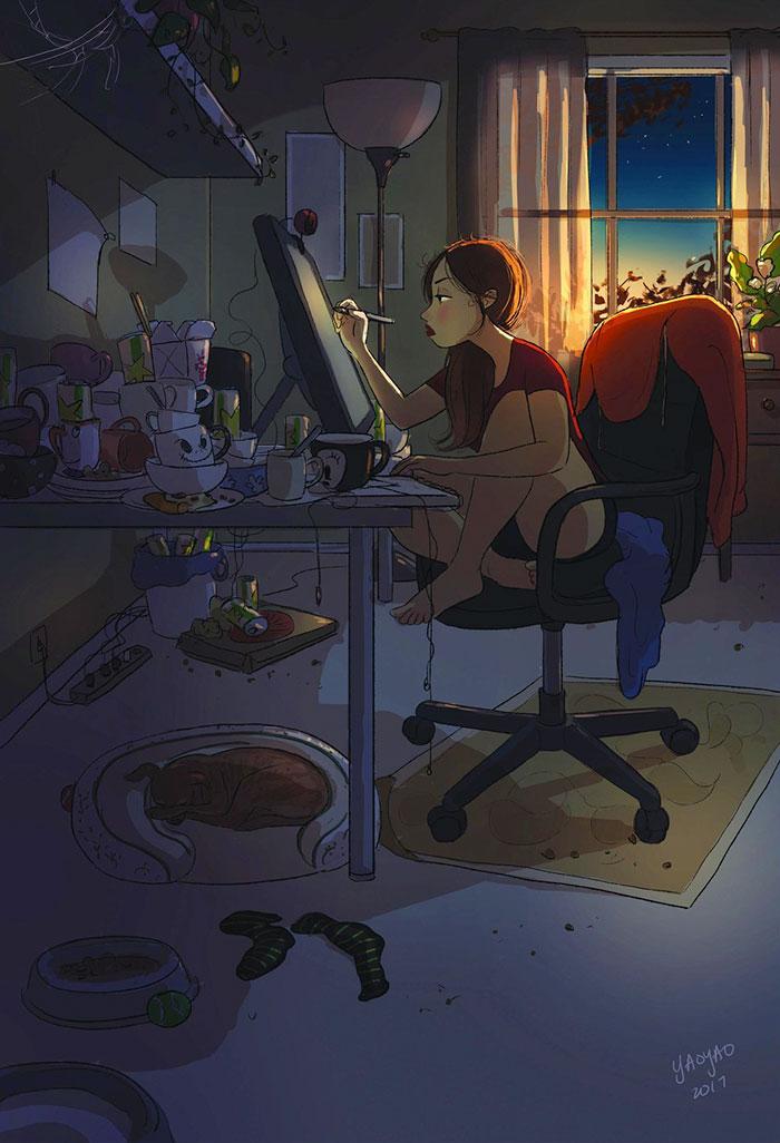 Working Whenever You Feel Like It