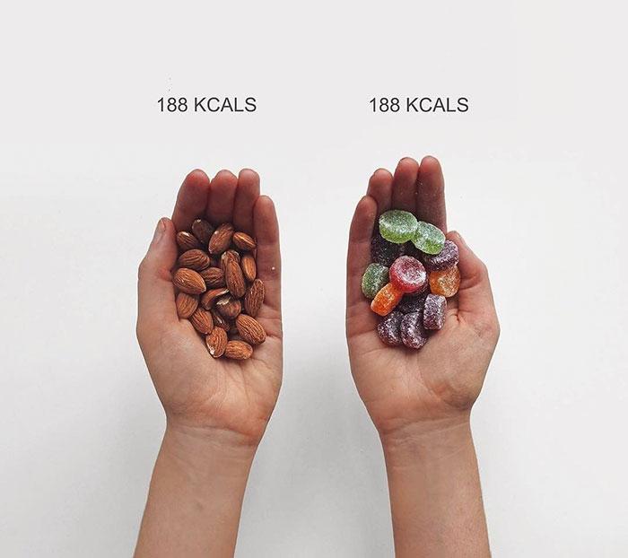 Esta bloguera de fitness compara las calorías para que cambies tu forma de ver la comida